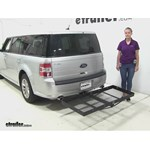 Stromberg Carlson  Hitch Cargo Carrier Review - 2014 Ford Flex