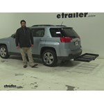 Stromberg Carlson  Hitch Cargo Carrier Review - 2014 GMC Terrain