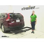 Stromberg Carlson  Hitch Cargo Carrier Review - 2014 Honda CR-V