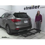 Stromberg Carlson  Hitch Cargo Carrier Review - 2014 Hyundai Santa Fe