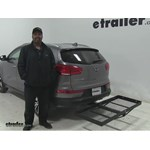 Stromberg Carlson  Hitch Cargo Carrier Review - 2014 Kia Sportage
