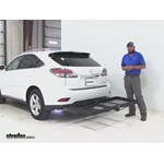 Stromberg Carlson  Hitch Cargo Carrier Review - 2014 Lexus RX 350
