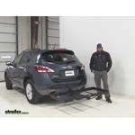 Stromberg Carlson  Hitch Cargo Carrier Review - 2014 Nissan Murano