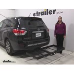 Stromberg Carlson  Hitch Cargo Carrier Review - 2014 Nissan Pathfinder