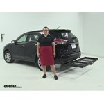 Stromberg Carlson  Hitch Cargo Carrier Review - 2014 Nissan Rogue