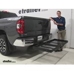 Stromberg Carlson  Hitch Cargo Carrier Review - 2014 Toyota Tundra