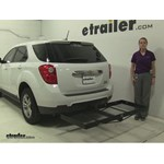 Stromberg Carlson  Hitch Cargo Carrier Review - 2015 Chevrolet Equinox