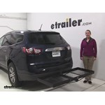 Stromberg Carlson  Hitch Cargo Carrier Review - 2015 Chevrolet Traverse