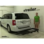 Stromberg Carlson  Hitch Cargo Carrier Review - 2015 Chrysler Town and Country