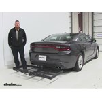 Stromberg Carlson  Hitch Cargo Carrier Review - 2015 Dodge Charger