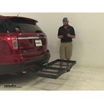 Stromberg Carlson  Hitch Cargo Carrier Review - 2015 Ford Explorer