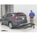 Stromberg Carlson  Hitch Cargo Carrier Review - 2015 Honda CR-V