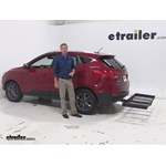 Stromberg Carlson  Hitch Cargo Carrier Review - 2015 Hyundai Tucson