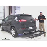 Stromberg Carlson  Hitch Cargo Carrier Review - 2015 Jeep Cherokee