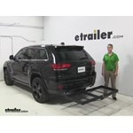 Stromberg Carlson  Hitch Cargo Carrier Review - 2015 Jeep Grand Cherokee