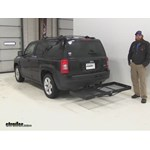 Stromberg Carlson  Hitch Cargo Carrier Review - 2015 Jeep Patriot