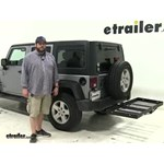 Stromberg Carlson  Hitch Cargo Carrier Review - 2015 Jeep Wrangler Unlimited