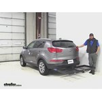 Stromberg Carlson  Hitch Cargo Carrier Review - 2015 Kia Sportage