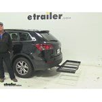 Stromberg Carlson  Hitch Cargo Carrier Review - 2015 Mazda CX-9