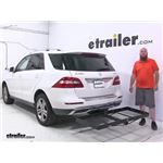 Stromberg Carlson Hitch Cargo Carrier Review - 2015 Mercedes-Benz M Class