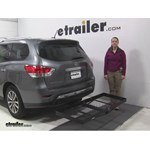 Stromberg Carlson  Hitch Cargo Carrier Review - 2015 Nissan Pathfinder