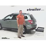 Stromberg Carlson  Hitch Cargo Carrier Review - 2015 Subaru Forester