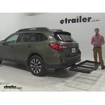 Stromberg Carlson  Hitch Cargo Carrier Review - 2015 Subaru Outback Wagon