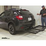 Stromberg Carlson  Hitch Cargo Carrier Review - 2015 Subaru XV Crosstrek