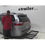 Stromberg Carlson  Hitch Cargo Carrier Review - 2015 Toyota Sienna