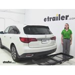 Stromberg Carlson  Hitch Cargo Carrier Review - 2016 Acura MDX