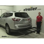 Stromberg Carlson  Hitch Cargo Carrier Review - 2016 Chevrolet Traverse