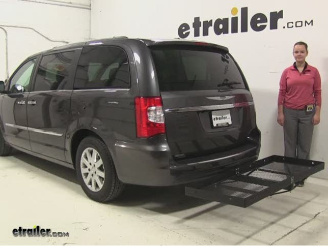 Stromberg Carlson Hitch Cargo Carrier Review 2016 Chrysler Town