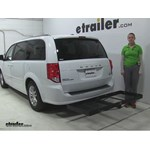 Stromberg Carlson  Hitch Cargo Carrier Review - 2016 Dodge Grand Caravan