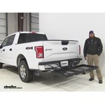 Stromberg Carlson  Hitch Cargo Carrier Review - 2016 Ford F-150