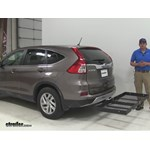Stromberg Carlson  Hitch Cargo Carrier Review - 2016 Honda CR-V