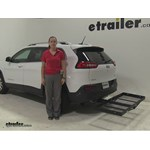 Stromberg Carlson  Hitch Cargo Carrier Review - 2016 Jeep Cherokee