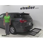 Stromberg Carlson  Hitch Cargo Carrier Review - 2016 Kia Sedona