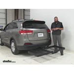 Stromberg Carlson  Hitch Cargo Carrier Review - 2016 Kia Sorento