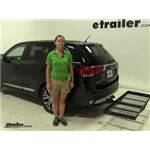 Stromberg Carlson  Hitch Cargo Carrier Review - 2016 Mitsubishi Outlander