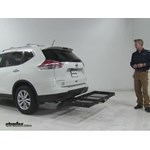 Stromberg Carlson  Hitch Cargo Carrier Review - 2016 Nissan Rogue