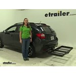 Stromberg Carlson  Hitch Cargo Carrier Review - 2016 Subaru Crosstrek