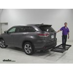 Stromberg Carlson  Hitch Cargo Carrier Review - 2016 Toyota Highlander