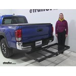 Stromberg Carlson  Hitch Cargo Carrier Review - 2016 Toyota Tacoma