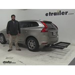 Stromberg Carlson  Hitch Cargo Carrier Review - 2016 Volvo XC60