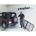 Surco Products 24x60 Hitch Cargo Carrier Review - 2004 Jeep Wrangler