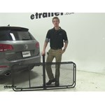 Surco Products 24x60 Hitch Cargo Carrier Review - 2014 Volkswagen Touareg