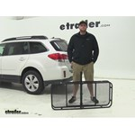 Surco Products  Hitch Cargo Carrier Review - 2012 Subaru Outback Wagon