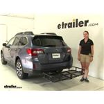 Surco Products  Hitch Cargo Carrier Review - 2015 Subaru Outback Wagon
