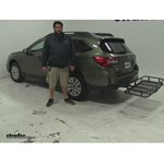 Surco Products  Hitch Cargo Carrier Review - 2016 Subaru Outback Wagon