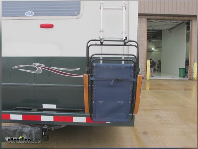 Surco Lawn Chair Rack For Vans And Rvs Ladder Mount